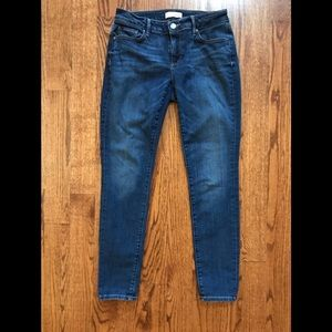 Curvy skinny jeans by Loft
